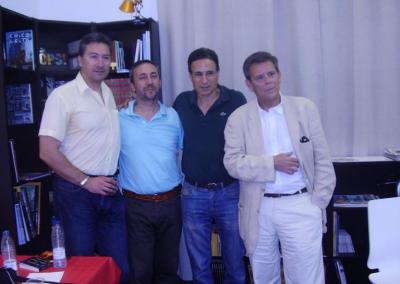 Cuatro escritores