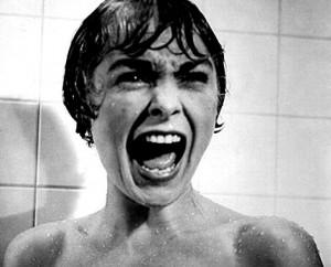 Fotograma de la película Psicosis, estrenada en 1960.
