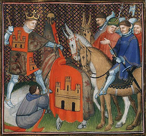 1410 - Jean Foissart - Alfonso_XI, of Leon and Castile