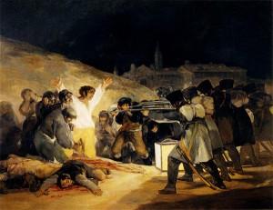 El 3 de mayo de 1808 en Madrid, Francisco de Goya