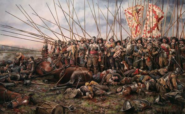 Los tercios en la batalla de Rocroi