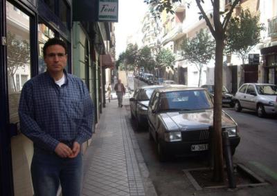 En la calle de Madrid en la que nací.