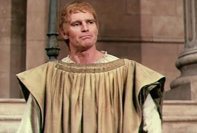 Charlton Heston as Mark Antony