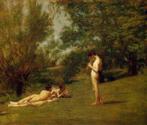 Eakins,_Thomas_(1844_-_1916)_-_Arcadia_-_ca._1883