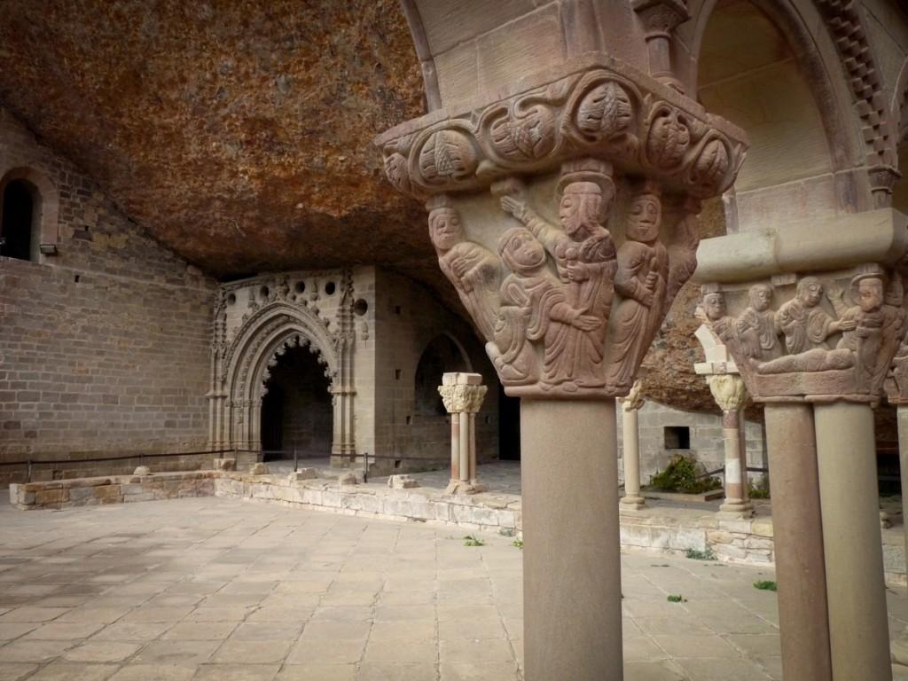 Claustro de San Juan de la Peña