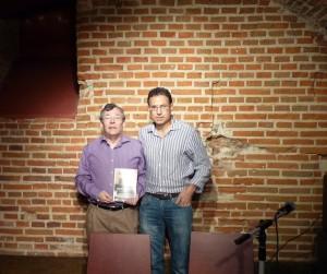 Presentación de la novela Así éramos, en la librería Fuentetaja de Madrid.
