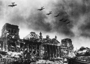 Caída de Berlín, 1945.