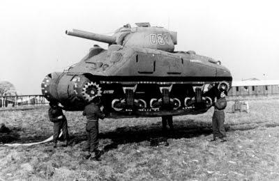 Estos tanques hinchables salvaron miles de vidas aliadas.