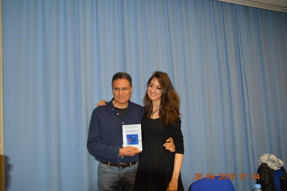 Con María Iglesias